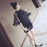 簡単にドレスアップできる「マントワンピース」8スタイルをご紹介!