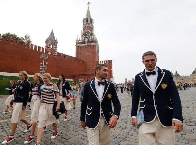 リオ五輪ロシア代表ユニフォーム