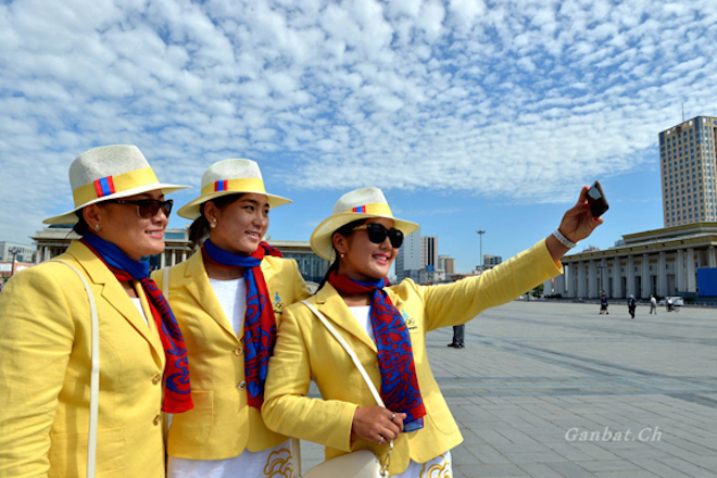 リオ五輪モンゴル代表ユニフォーム