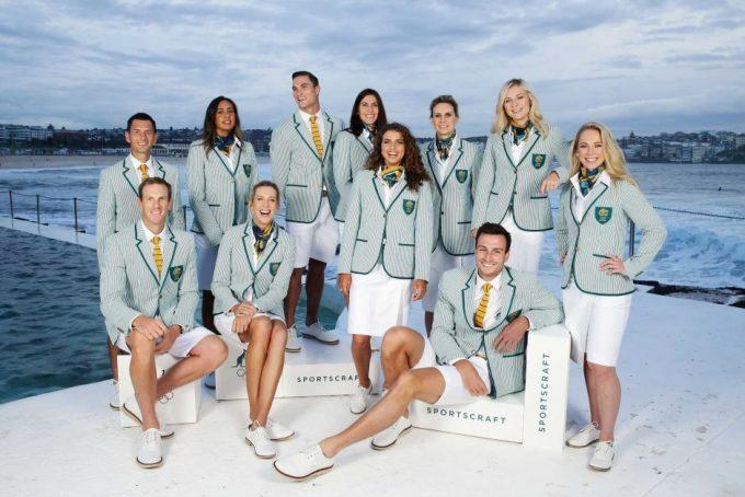 リオ五輪オーストラリア代表ユニフォーム