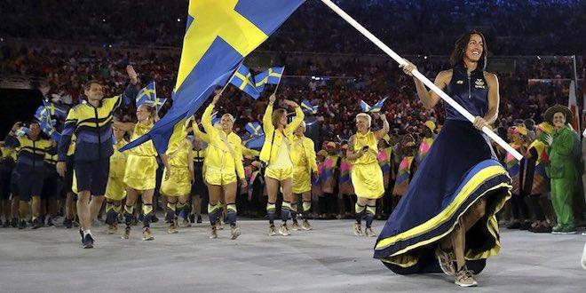 リオ五輪スウェーデン代表ユニフォーム