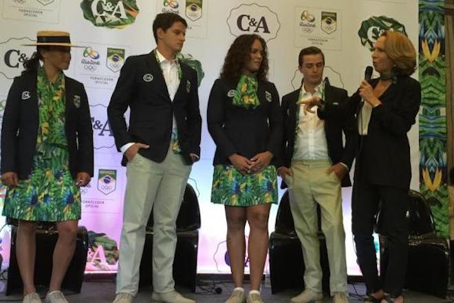 リオ五輪ブラジル代表ユニフォーム