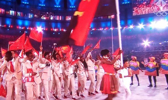リオ五輪アンゴラ代表ユニフォーム