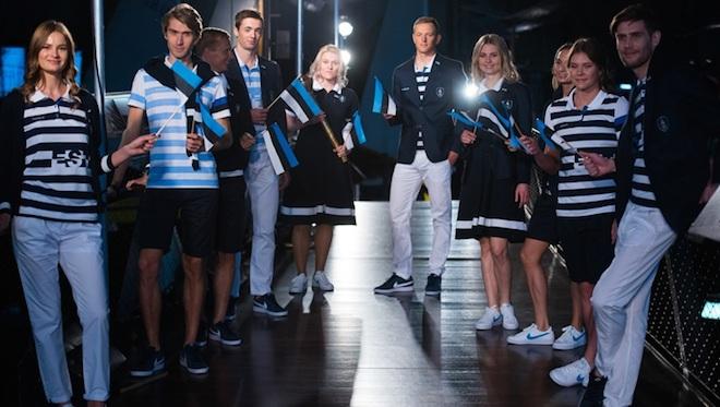 リオ五輪エストニア代表ユニフォーム