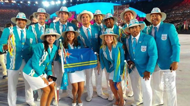 リオ五輪アルバ代表ユニフォーム