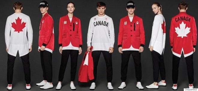 リオ五輪カナダ代表ユニフォーム