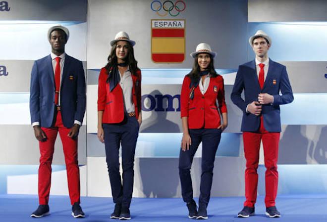 リオ五輪スペイン代表ユニフォーム