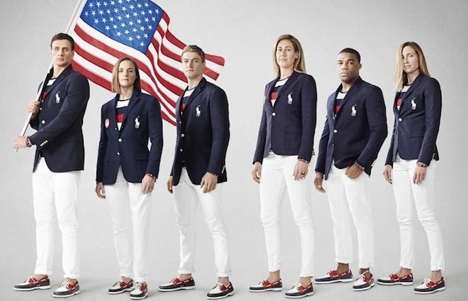 リオ五輪アメリカ代表ユニフォーム