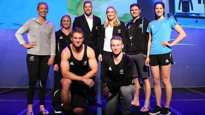 リオ五輪ニュージーランド代表ユニフォーム