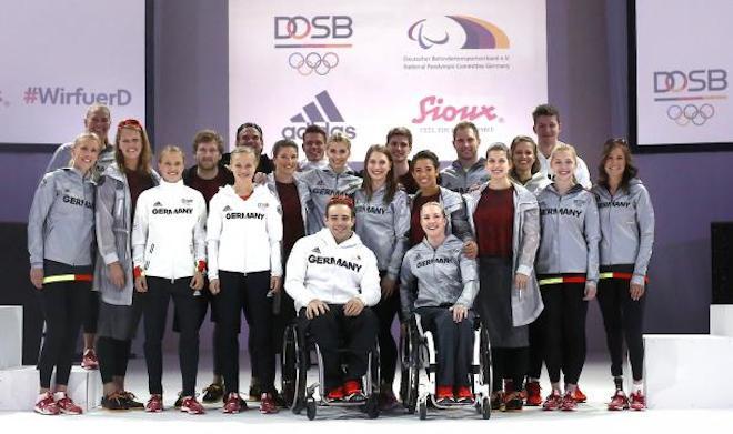 リオ五輪ドイツ代表ユニフォーム