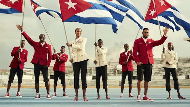 リオ五輪キューバ代表ユニフォーム