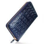 フォリフォリのエナメル長財布「ロゴマニア」が可愛い!ロゴぎっしりで存在感たっぷり!