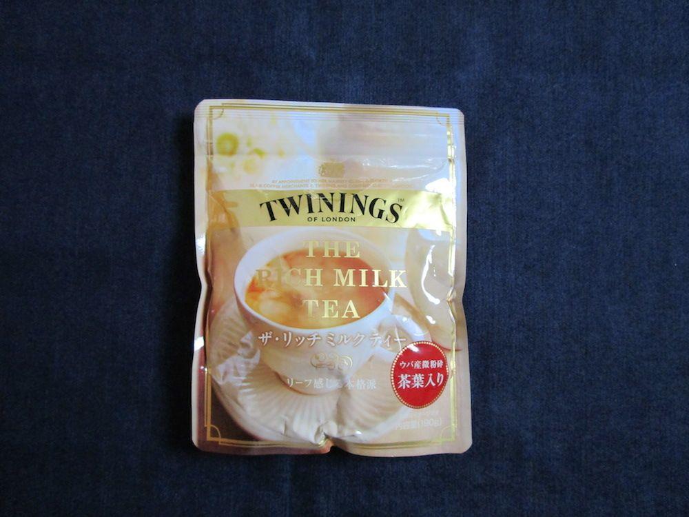 トワイニングのミルクティー