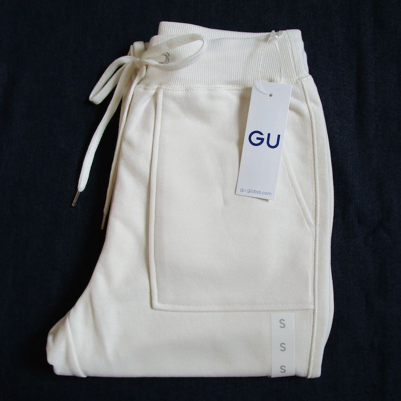 GU(ジーユー)スウェットイージーパンツ