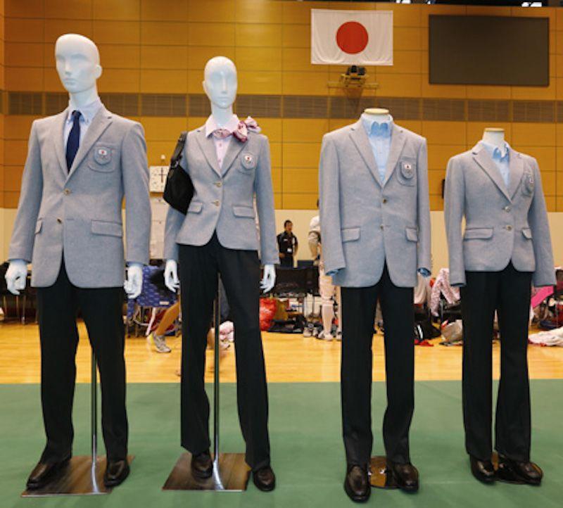 ソチオリンピック日本代表ユニフォーム